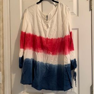 Red, White, and Blue tunic